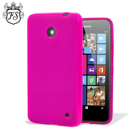 arrives 35ecc 0c48c Flexishield Nokia Lumia 630 / 635 Gel Case - Hot Pink