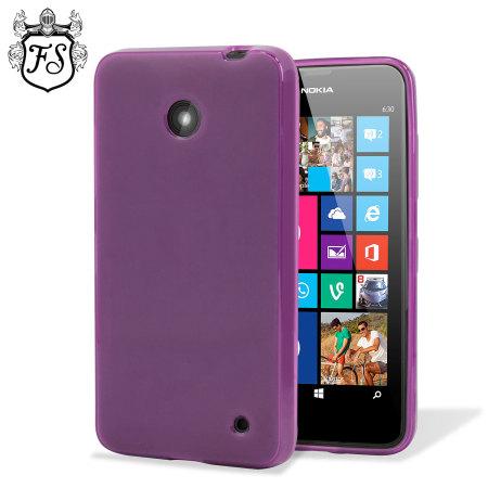 Flexishield Nokia Lumia 630 / 635 Gel Case - Purple