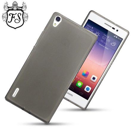 Flexishield Huawei Ascend P7 Case - Smoke Black