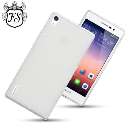 Flexishield Huawei Ascend P7 Case - Frost White