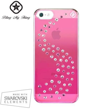 094540a14b0 Funda Phone 5S / 5 Bling My Thing Milky Way Mirror - Rosa