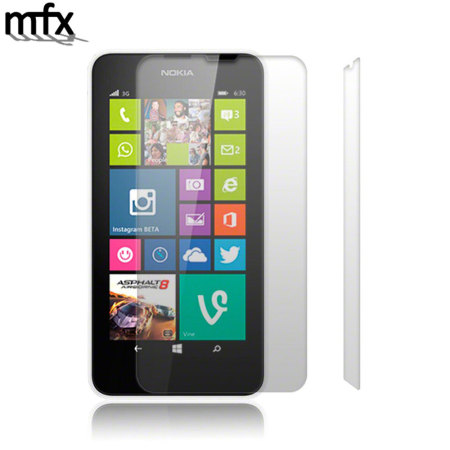 MFX Nokia Lumia 630 / 635 Screen Protector 2 Pack
