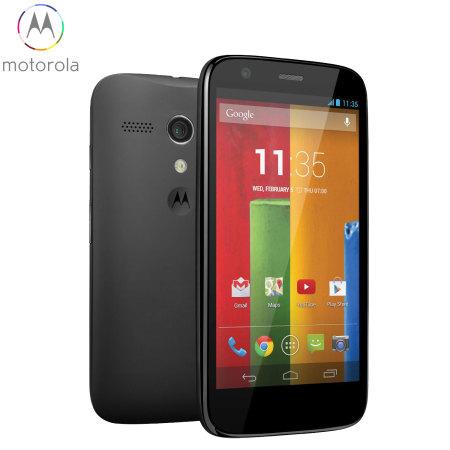 SIM Free 8GB Motorola Moto G 4G LTE - Black