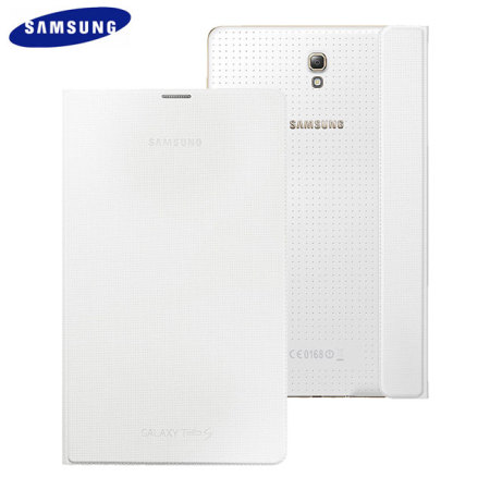 Official Samsung Galaxy Tab S 8.4 Simple Cover - Dazzling White