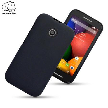 ToughGuard Motorola Moto E Rubberised Case - Black