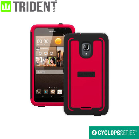 finest selection 09483 a49f4 Trident Cyclops Huawei Ascend Mate 2 Case - Red / Black
