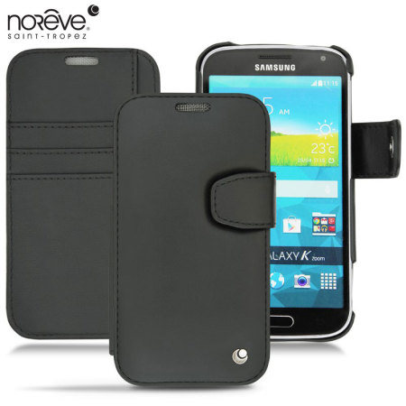 Noreve Tradition B Samsung Galaxy K Zoom Leather Case - Black