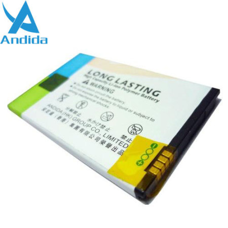 Andida HTC Desire S Extended Battery - 1700mAh