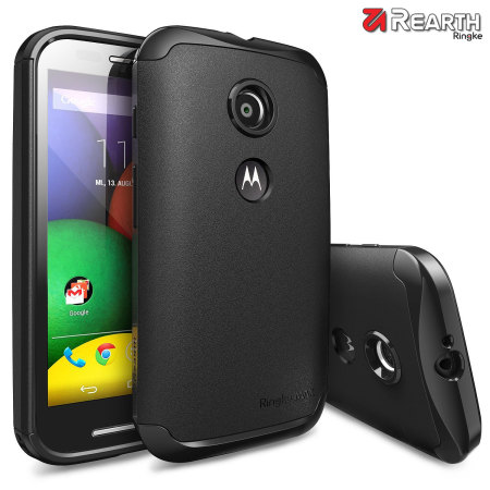 Rearth Ringke MAX Moto E Heavy Duty Case - Black