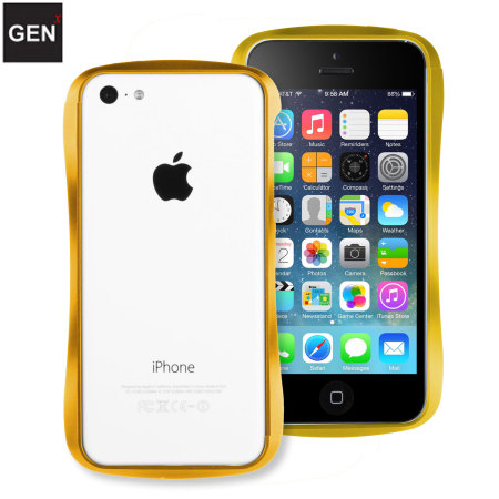 iphone 5c gold genx iphone 5c aluminium bumper gold 8119