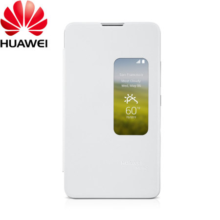 official photos f1c8b 788a0 Official Huawei Ascend Mate 2 View Case - White