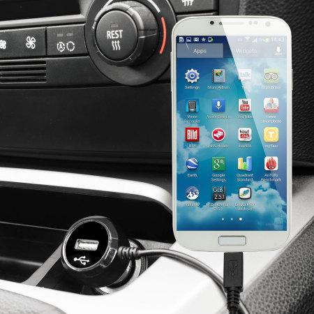 Olixar High Power Samsung Galaxy S4 Car Charger