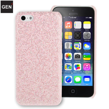 GENx iPhone 5C Glitter Case - Pink