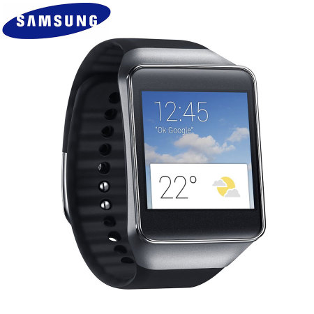 samsung gear live smartwatch black. Black Bedroom Furniture Sets. Home Design Ideas