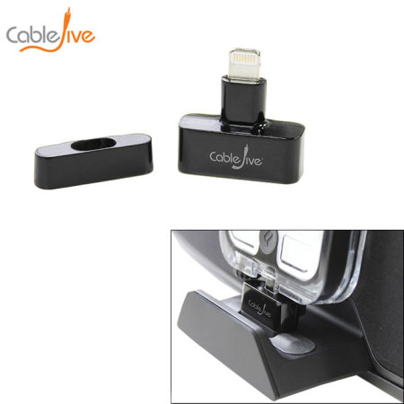 CableJive dockStubz Case Compatible Lightning Dock Adapter