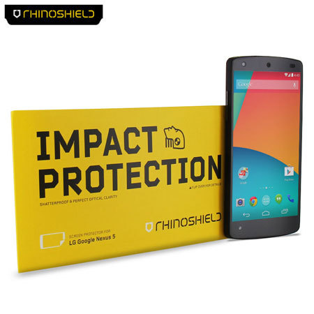Rhino Shield Nexus 5 Screen Protector