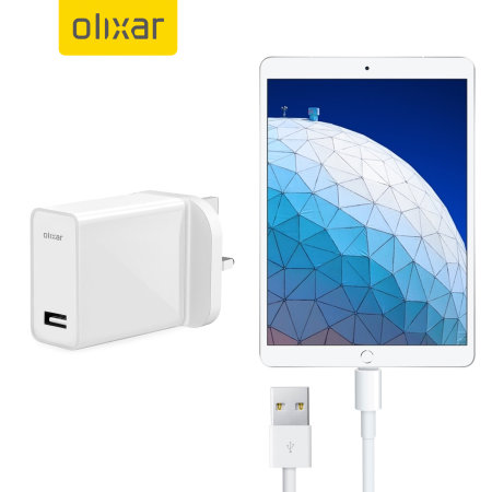 High Power iPad Air Wall Charger & 1m Cable