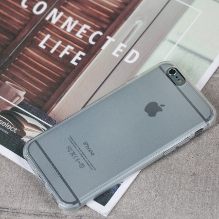 Olixar FlexiShield iPhone 6S / 6 Case - Frost White