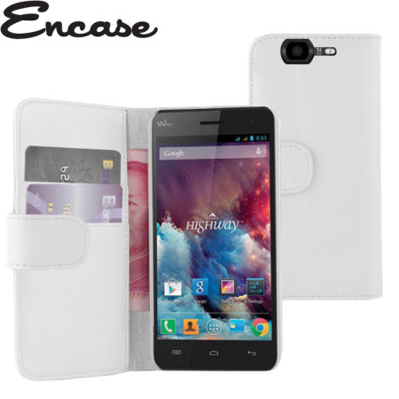 Encase Wiko Highway Wallet Case - White
