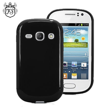 FlexiShield Samsung Galaxy Fame Gel Case - Black