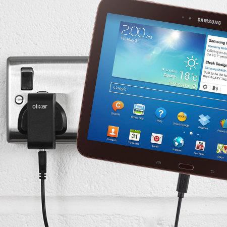 Olixar High Power Samsung Galaxy Tab 3 10.1 Charger - Mains