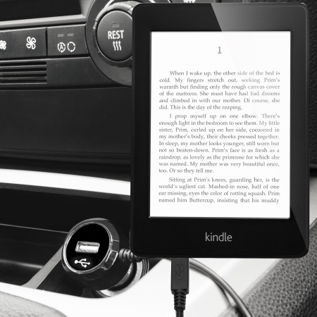 Olixar High Power Amazon Kindle Paperwhite Car Charger