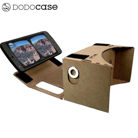 Dodocase google cardboard virtual reality kit with nfc tag publicscrutiny Image collections