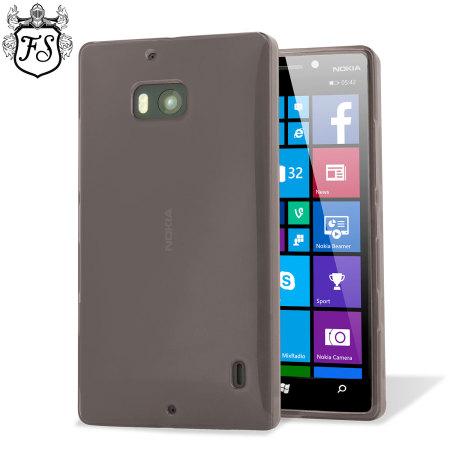 FlexiShield Nokia Lumia 930 Gel Case - Smoke Black