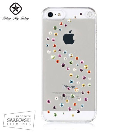 Bling My Thing Milky Way iPhone 5S / 5 Case - Cotton Candy