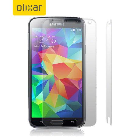 Olixar Samsung Galaxy S5 Screen Protector - 2 Pack