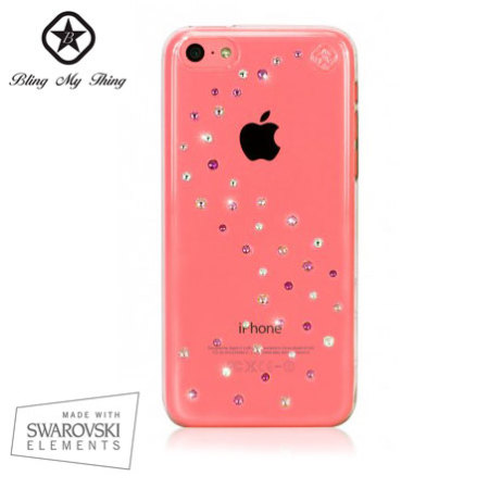 Bling My Thing Milky Way Collection iPhone 5C Case - Pink Mix