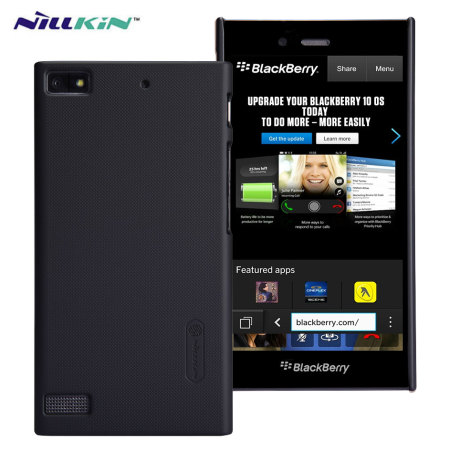 Nillkin Super Frosted Shield BlackBerry Z3 Case - Black