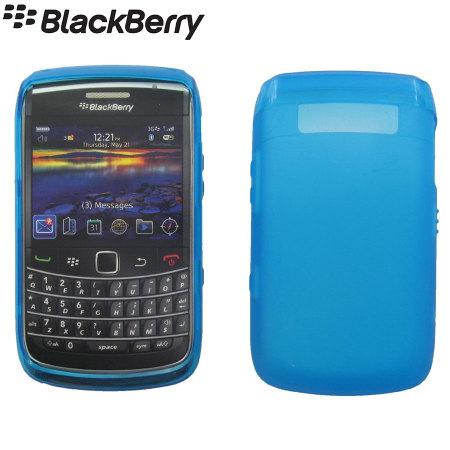 Official BlackBerry Bold 9780 Soft Shell Case - Blue