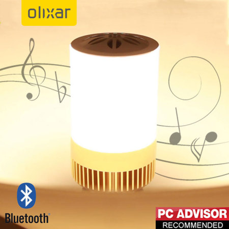 Ampoule LED / Enceinte connectée Olixar Bluetooth