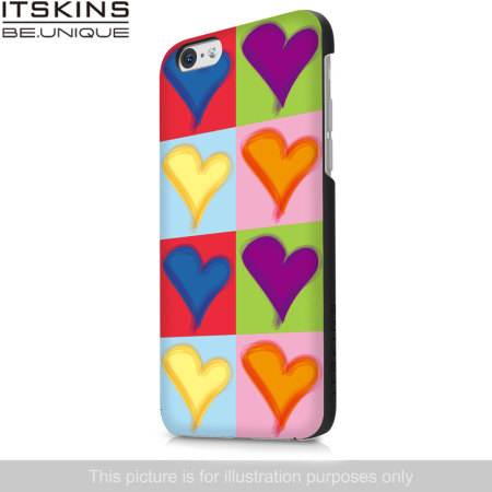 ITSKINS Hamo Wiko Bloom Case - Coloured Hearts