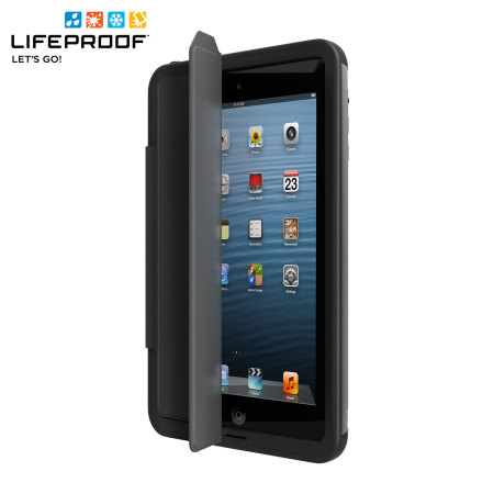 free shipping 8257e abe3e LifeProof iPad Mini 3 / 2 / 1 Nuud Portfolio Cover Stand - Black