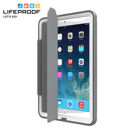 buy online d672b 023a1 LifeProof iPad Air Fre Portfolio Cover Stand - Grey