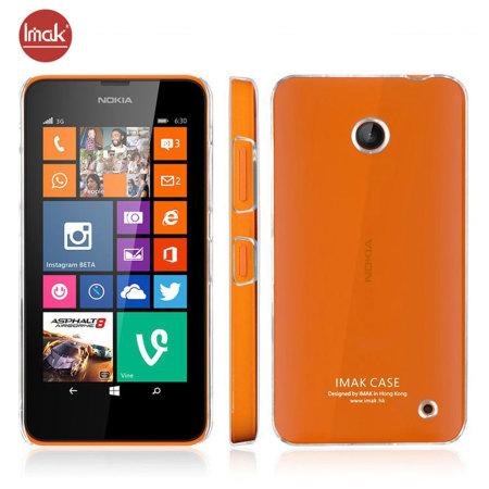 IMAK Nokia Lumia 630 / 635 Hard Shell Case - 100% Clear