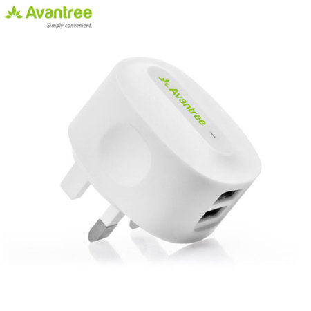 Avantree 2.1A Dual USB Mains Charger