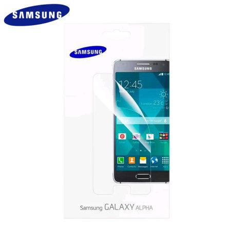 Official Samsung Galaxy Alpha Screen Protector