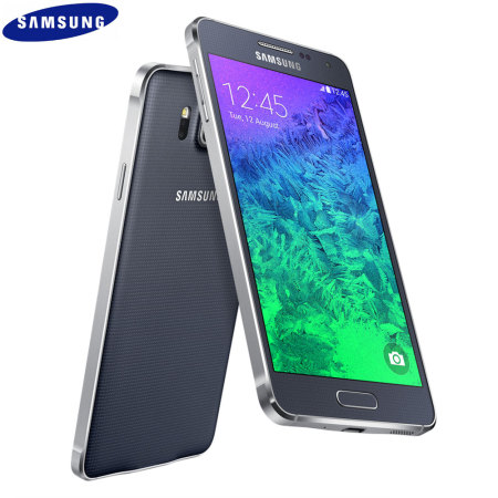 SIM Free Samsung Galaxy Alpha 32GB - Charcoal Black.