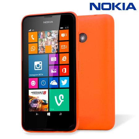 reputable site 77f63 e1c86 Official Nokia Lumia 530 Shell Case - Orange