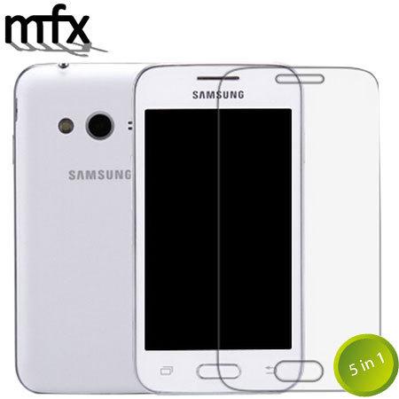 Confezione 5-in-1 di pellicole protettive MFX per Samsung Galaxy Ace 4