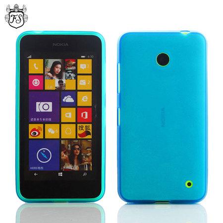 Flexishield Nokia Lumia 630 / 635 Gel Case - Blue