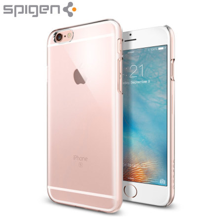 Spigen Thin Fit iPhone 6S / 6 Shell Case - Crystal Clear