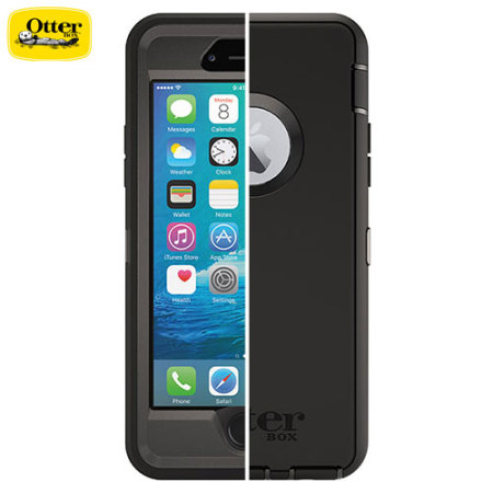 OtterBox Defender Series iPhone 6 Hülle in Schwarz