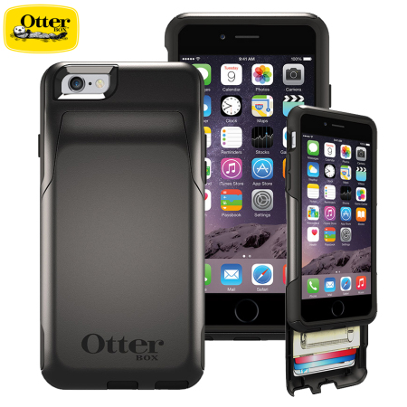 iphone 6 otterbox commuter otterbox commuter iphone 6s 6 wallet black 15010