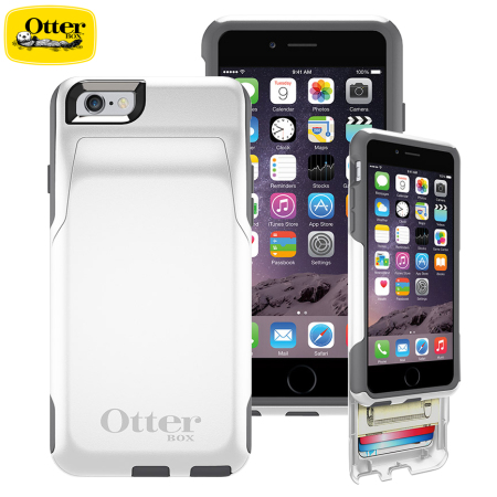 competitive price 32135 382db OtterBox Commuter iPhone 6S / 6 Wallet Case - Glacier