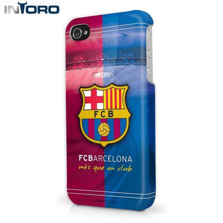 Intoro Skins Fc Barcelona Iphone 5s 5 Hard Case