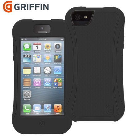 brand new 7a9b6 bca7f Griffin Survivor Slim iPhone 5S / 5 Tough Case - Black